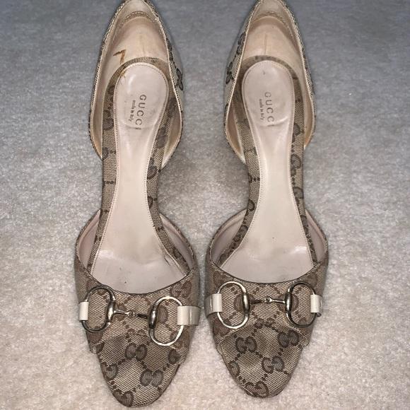 gucci open toe shoes